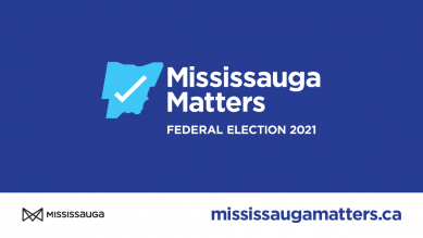 Mississauga Matters logo and website