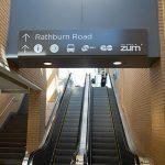 City Centre Transit Terminal escalators