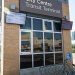City Centre Transit Terminal outdoor signage