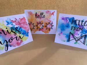 Do it yourself watercolour cards