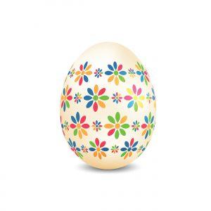 Colourful Easter egg