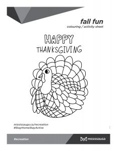 Thanksgiving_Turkey Colouring sheet