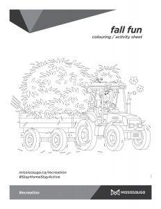 farmer driving a hay truck