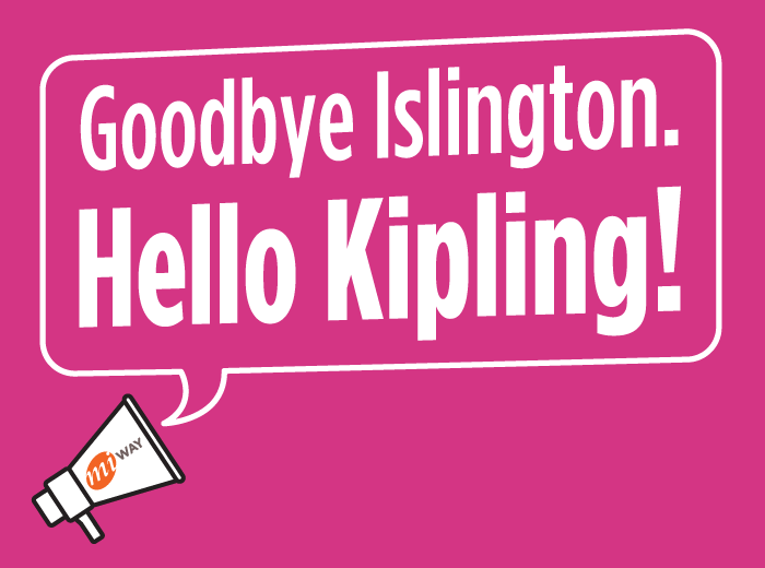 We're moving to Kipling Station