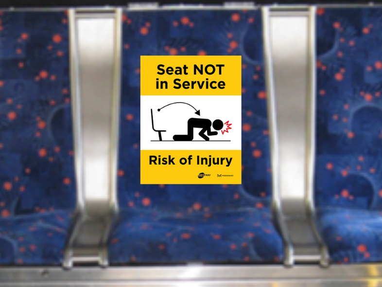 Seat not in service